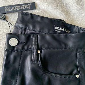 Blank nyc vegan leather skinny pants